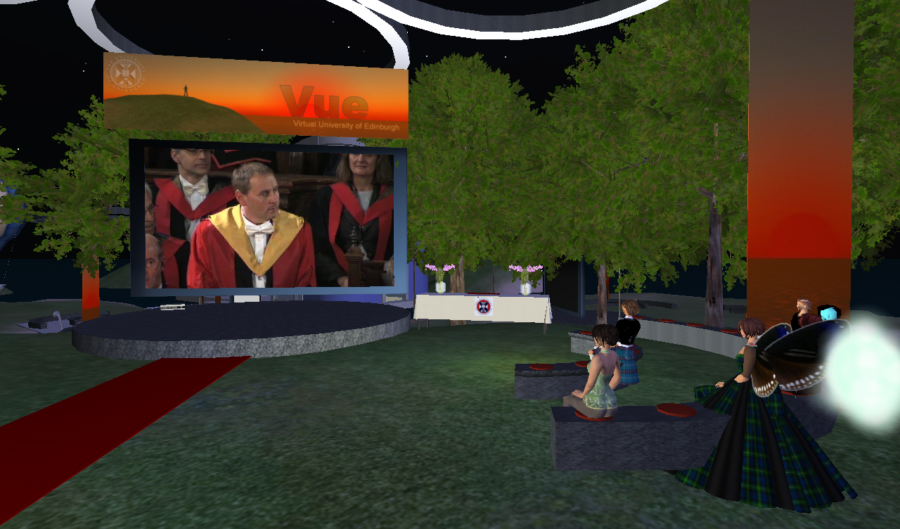 University of Edinburgh Virtual Graduation 11.26.2009