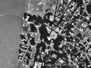 World Trade Center as seen through Google Earth
