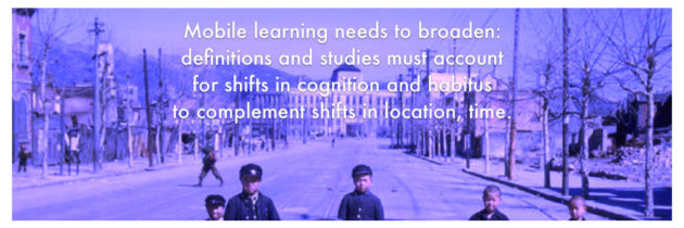 My thesis: mLearning in South Korean higher education