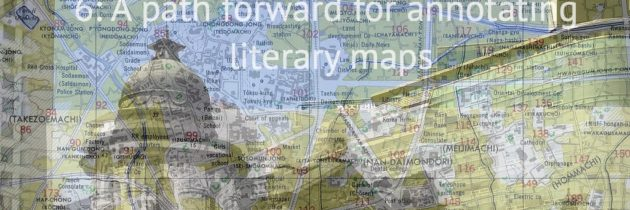 Annotation, mLearning, and Geocaching Part #6: A path forward for annotating literary maps
