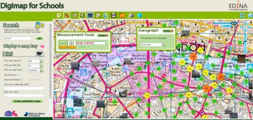 Digimap London