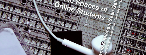Sonic Spaces of Online Students: Sound is contested and takeaways for teachers