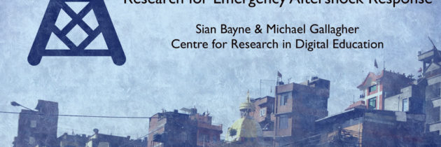 Emergency response (and digital) education research at Interweaving Conference at Moray House