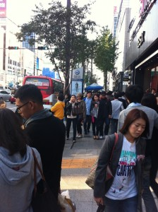 A day in Gangnam (강남), Seoul: October 1, 2011
