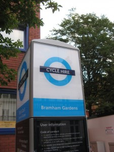 Cycle Hire: Chelsea, London: June 2011