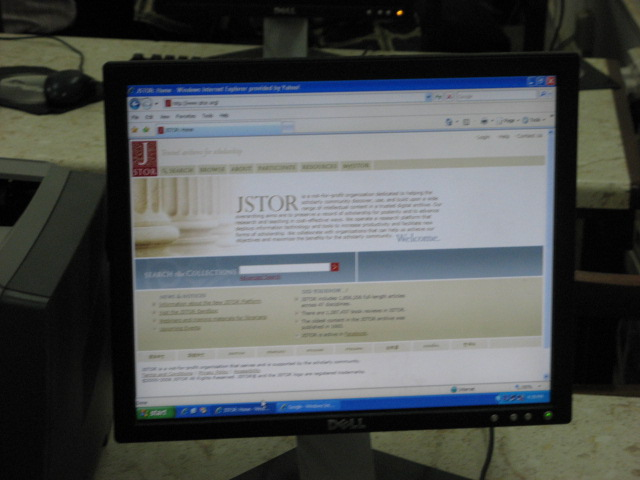 JSTOR at the University of Ghana, Legon
