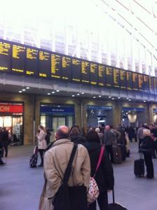 Kings Cross Station, London
