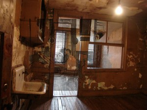 Mashing a Lower East Side tenement with a working family: possible use case for augmented reality