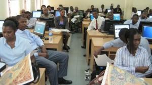 The workshop participants