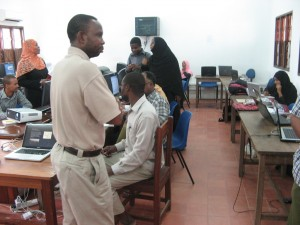Workshop at State University of Zanzibar (SUZA): May 2011