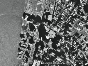 World Trade Center as seen through Google Earth