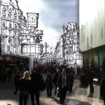 London mobile learning illustration
