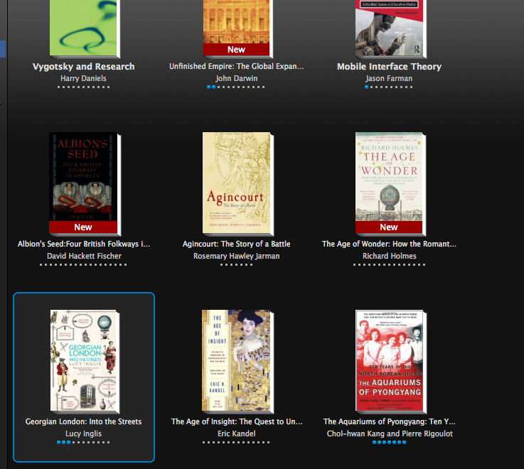 Kindle Reading List