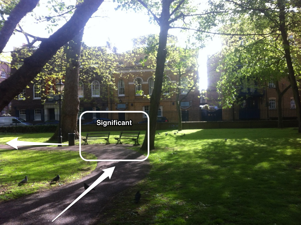 Park in Wapping, London