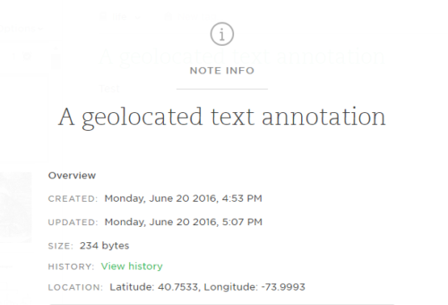 Annotation and mLearning